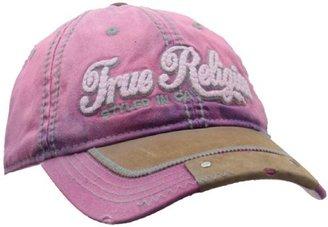 True Religion Women's Script Baseball Hat