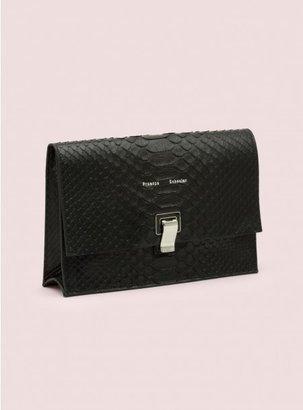 Proenza Schouler Small Lunch Bag Python