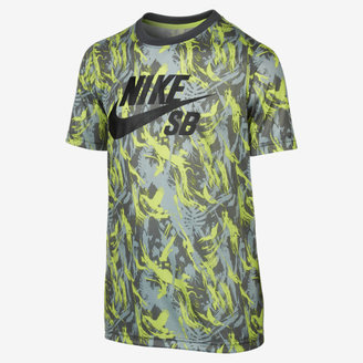 Nike SB Lizard Camo Printed Boys' T-Shirt
