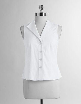 Jones New York Collection Non-Iron Sleeveless EZ Shirt