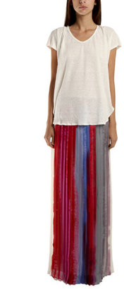 Rag and Bone Rag & Bone Cecil Skirt in Red Multi