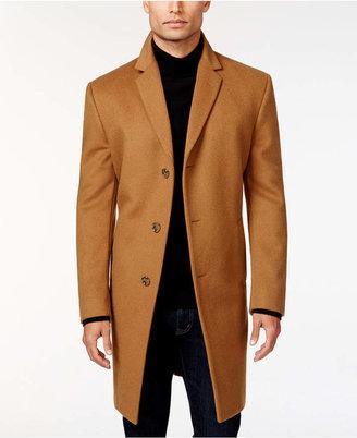 964764d26f36 Kenneth Cole Reaction Raburn Wool-Blend Over Coat Slim-Fit