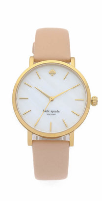 Kate Spade New York Metro Classic Watch $195 thestylecure.com