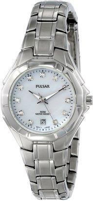 Pulsar Women's PH7239 Analog Display Japanese Quartz Silver Watch