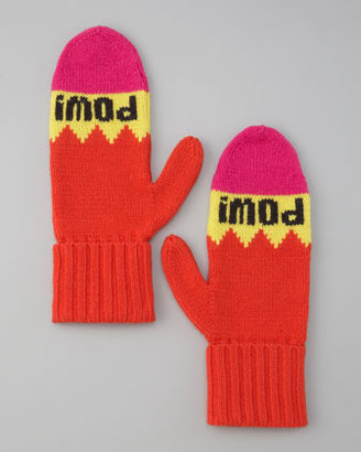 "Kate Spade Big Apple ""Pow! Pow!"" Mittens"