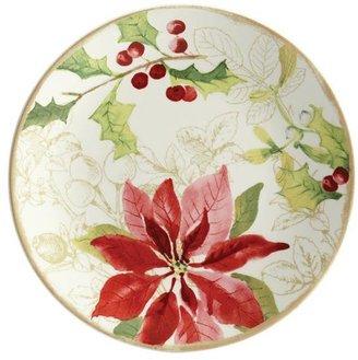 Paula Deen 4-pc. Holiday Floral Salad Plate Set