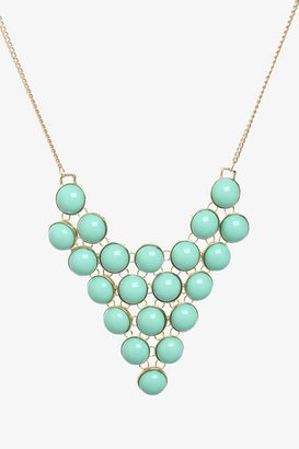 Turquoise Bauble Statement Necklace