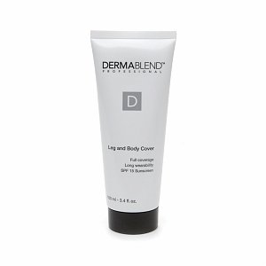 Dermablend Leg and Body Cover with SPF 15 Sunscreen, Tawny