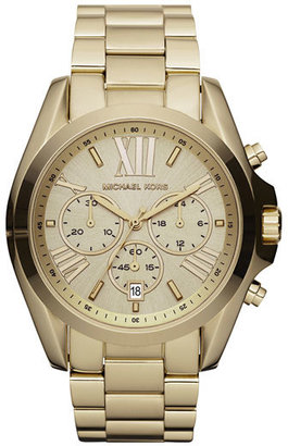 Women's Michael Kors 'Bradshaw' Chronograph Bracelet Watch, 43Mm $250 thestylecure.com