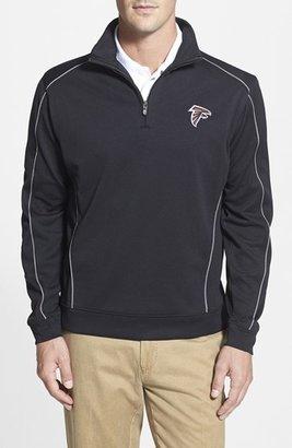 Men's Cutter & Buck 'Atlanta Falcons - Edge' Drytec Moisture Wicking Half Zip Pullover $125 thestylecure.com