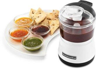 KitchenAid 3.5-Cup Food Chopper in White