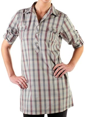 Exofficio Pocatello Plaid Macro Dress (For Women)