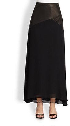 Alice + Olivia Cheyleigh Slim Maxi Skirt