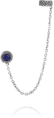Pamela Love Silver lapis lazuli ear cuff