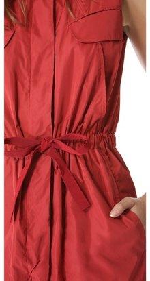 Carven Technical Sleeveless Dress