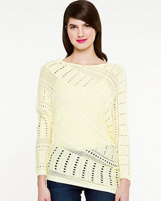 Le Château Knit Asymmetrical Sweater