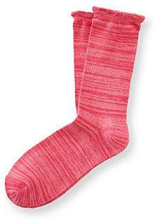 Relativity Scalloped Socks