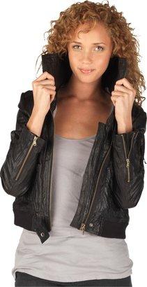 Converse Women's Moto Leather Jacket