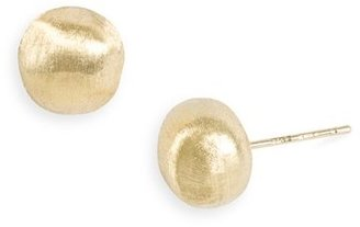 Women's Marco Bicego 'Africa Gold' Nugget Earrings $660 thestylecure.com