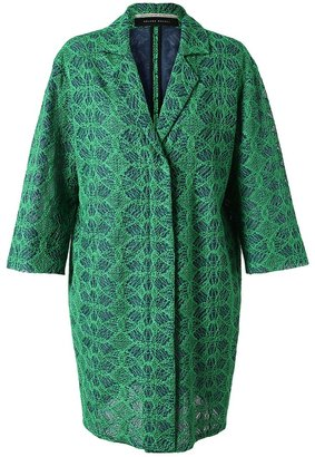 Roland Mouret 'Paddington' embroidered coat