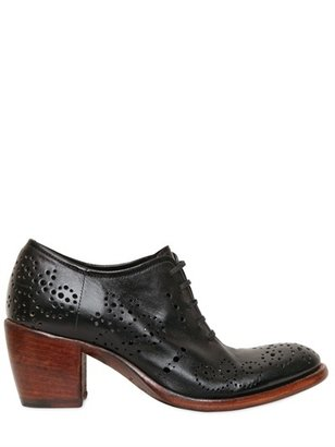 Rocco P. 65mm Perforated Leather Lace-Up Shoes