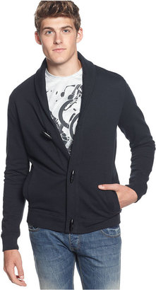 Kenneth Cole Reaction Shirts, Long Sleeve Shawl Cardigan With Toggles