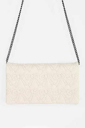 Urban Outfitters Cooperative Puffy Bow Convertible Crossbody Wallet