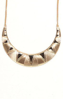 With Love From Ca Triangle Collar Necklace