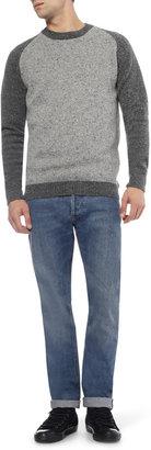 NN.07 James Regular-Fit Selvedge Washed-Denim Jeans