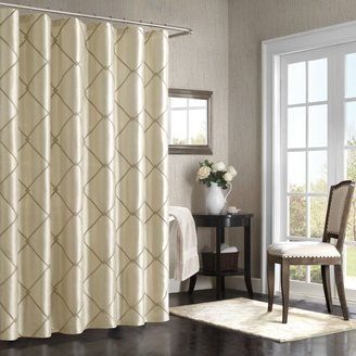 Bed Bath & Beyond BombayTM Garrison 72-Inch x 72-Inch Shower Curtain in Taupe