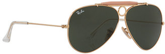 Ray-Ban RB3138 Shooter 58mm Sunglasses $150 thestylecure.com