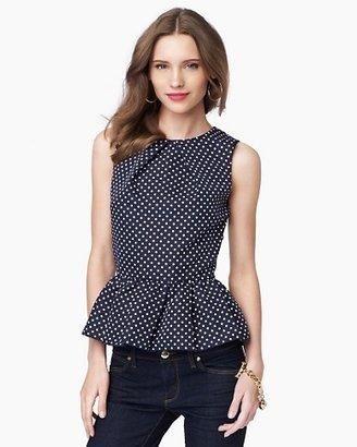Juicy Couture Flirty Pin Dot Top
