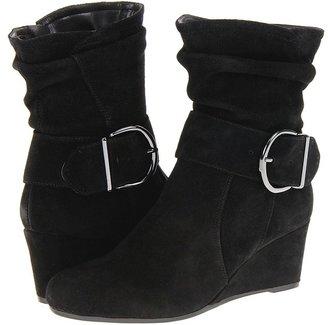 Bandolino Abundant (Black Suede) - Footwear