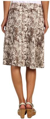 Red Dot Knee Length Skirt