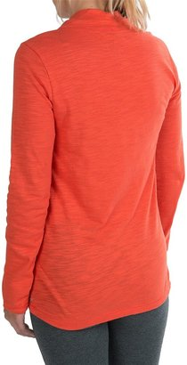 Neon Buddha Slub Everywhere Twist Shirt (For Women)