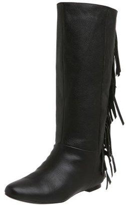 Volatile Women's Bueller Leather Fringe Boot