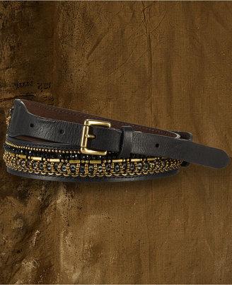 Denim & Supply Ralph Lauren Beaded Leather Belt