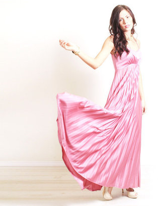 Jolly Gargoyle Vintage '70s Goddess Empire Waist Gown