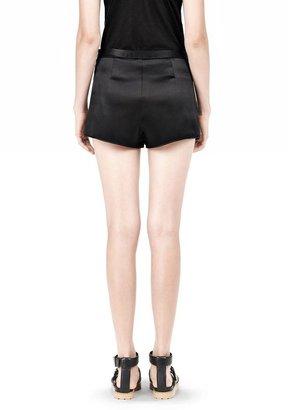 Alexander Wang Silk Satin Shorts