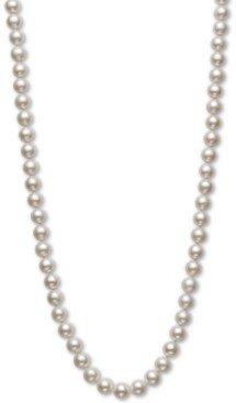 "Belle de Mer Cultured Freshwater Pearl 20"" Strand Necklace (7-1/2-8-1/2mm) in 14k gold"