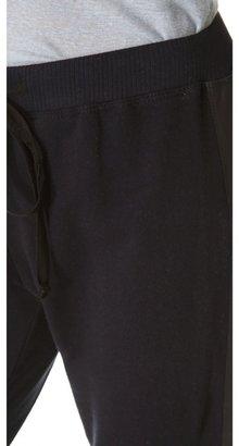 Wilt Leather Mix Sweatpants