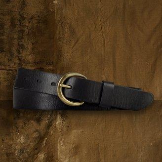 Denim & Supply Ralph Lauren Leather Round-Buckle Belt