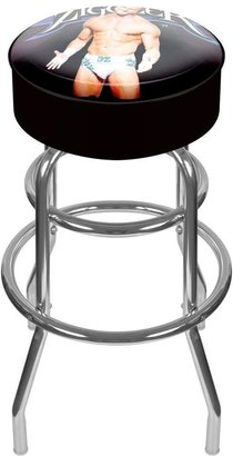WWE Trademark Dolph Ziggler Padded Swivel Bar Stool II