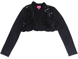 JCPenney Pinky Sequin Shrug - Girls 7-16