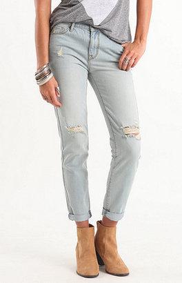 Bullhead Denim Co Skinny Breaker Boyfriend Jeans