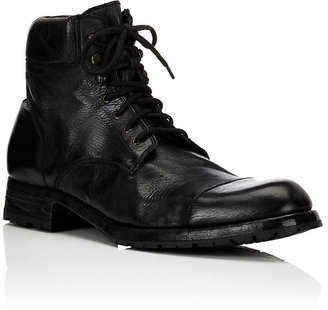 Harris Men's Padded-Collar Work Boots