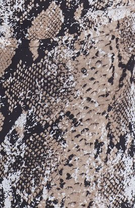 Kenneth Cole New York 'Amy' Snake Print Dress