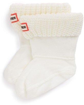 Hunter Cardigan Knit Cuff Welly Boot Socks