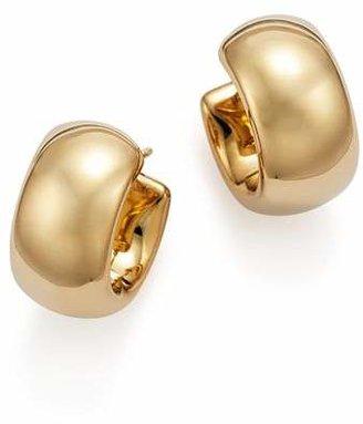 Bloomingdale's 14K Yellow Gold Wide Band Polished Hoop Earrings - 100% Exclusive