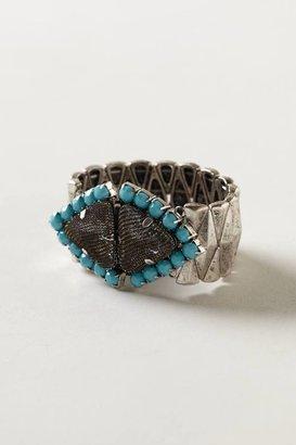 Anthropologie Turquoise Talisman Bracelet